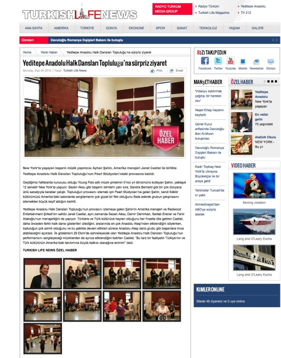 Turkish Life News-9-24-2012